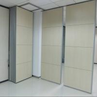 Buy cheap Soundproof Sliding Folding Room Partitions MDF + Aluminum Material from wholesalers