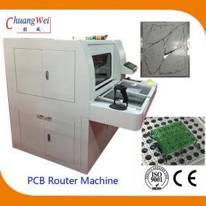 Buy cheap Máquina doble del router del PWB de la estación con el inspector auto del pedazo from wholesalers