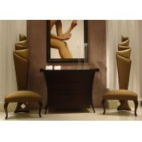 China Accent  Modern Lobby Furniture Wooden Console Table And Chairs For Entrance on sale