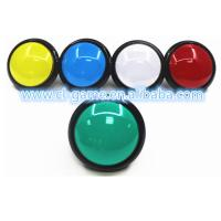 China 33.5mm Hole Size Game Push Button With Led Light Wear Resistance on sale