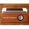 China Creative Mini Wooden Speaker wholesale