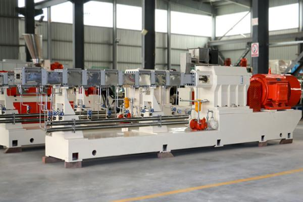 Quality Great Performance Conical Twin Screw Extruder Filler Masterbatch Granulator for sale