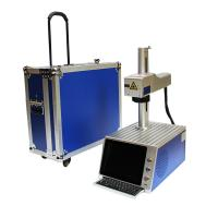 China Galvo Head Mini Laser Engraver Etching Machine For Metal , Energy Saving wholesale