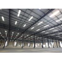 China Metal Building Construction Projects Industrial Workshop Designs Prefabricated Steel Structure on sale