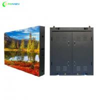 China P10 Stage Rental LED Display Steel Aluminium Cabinet Design FCC UL Approved wholesale