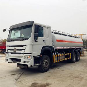 China HOWO 6×4 20CBM Refueling Oil Tanker Truck Optional Color 336HP 15001 - 30000L wholesale