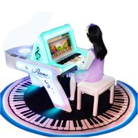 China Children Coin Operated Karaoke Machine Piano Arcade Game For Playground on sale
