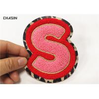 China Embroidery Wholesale Custom Chenille Patch,Iron On Cheap Chenille Letter Patchs wholesale