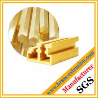 China copper alloy brass material for metal window door frame parts wholesale