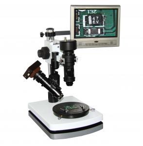 China Double Lens 100x 200X 300X USB digital camera Zoom 3D Digital Microscopes / Microscope on sale
