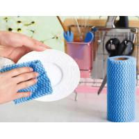 China Eco - Friendly Disposable Cleaning Wipes Breathable Non Woven Cleaning Wipes wholesale