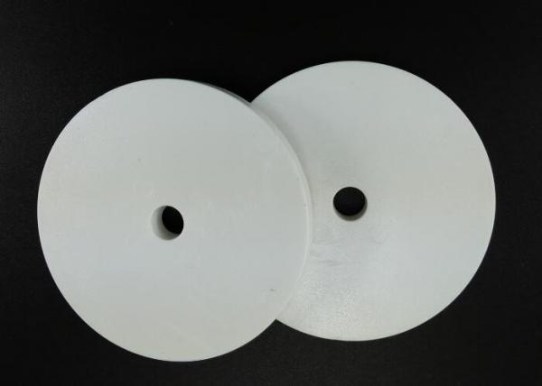 Quality RAL9003 White Plastic Injection Molding Products , Round Base Washer Shim 5 X 50 mm for sale
