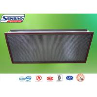 China AHU System High Temp Hepa Filter Efficiency H13 H14 0.3um Particulate on sale