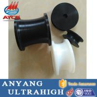 China 100% virgin uhmwpe plastic mc nylon pulley U V Grooved Pulley wheel for rope wholesale