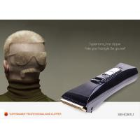 China Professional Fast Feed Quiet Barber Shop Hair Clipper With Titanium Blade on sale