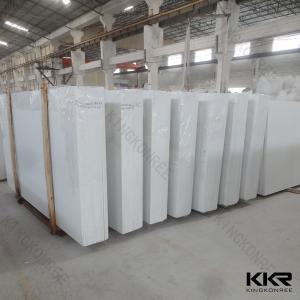 Engineered Quartz Stone Slab White Artificial Stone