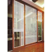 China Aluminum Door Glass Inserts Blinds on sale
