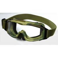 China Safety Tactical Anti-Fog Goggles , Military Protective Eyewear on sale