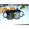 China Fashion Ceramic Printed Magic Coffee Mug , Color Changing Heat Sensitive Mug Custom wholesale