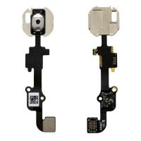 China New White Cell Phone Spare Parts Home Button Flex Cable Long Life Time wholesale