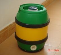 China 5L plastic beer keg wholesale
