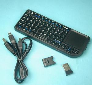 China Rii Mini Bluetooth Keyboard Touchpad, Presenter (RT-MWK02) wholesale