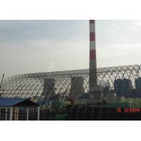 China Prefabricated Steel Space Frame Structures / Architecture Chemical Plant Coal Shed wholesale
