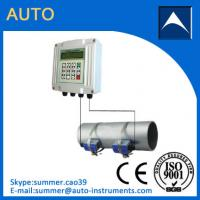 China Output 4-20mA Non-invasive Water Ultrasonic Flow Meter/Insertion Water Flowmeter wholesale