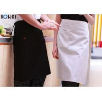China Custom Cooking Aprons For Women With Pockets , Cotton Twill Fabric Aprons Cute Womens Aprons wholesale