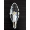 China luz de cristal K5 220V de abrigo de cristal E14 da vela do diodo emissor de luz 3W dimmable wholesale