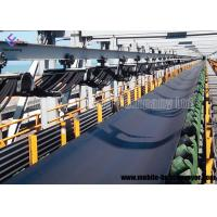 China Wear Resistant Rubber Flat Mobile Conveyor Belt System For Copper Ore And Gold Ore wholesale