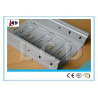 Perforated Galvanized Cable Tray Roll Forming Machine 5T Decoiler Capacity