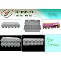 China Disposable Paper Molded Egg Carton / Egg Box / Egg Tray with 10 Cavities wholesale