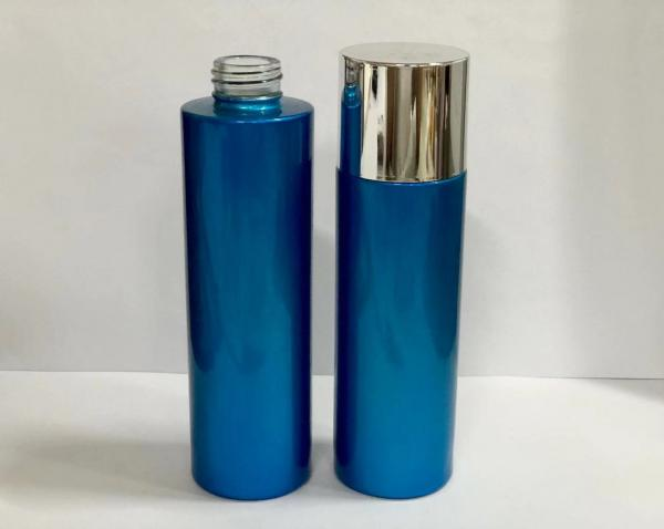 Quality Safety Glass Cosmetic Pump Bottle / Skin Care Bottles Packaging Easy To Use And Clean for sale