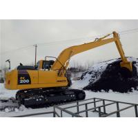 Unloading Coal Long Reach Excavator Booms 18 Meter For Komatsu Excavator PC200