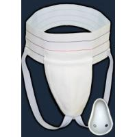 China White Color Men ' S Athletic Supporter , Male Athletic Supporter With Flex Shield Cup wholesale