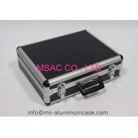 Black Aluminum Case For Equipment Strong Aluminumm Equipment Carrying Case