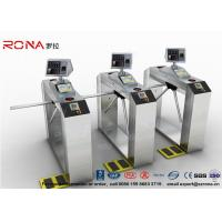 China Pedestrian Facial Recognition Turnstile ESD Fingerprint Access Control Barriers wholesale