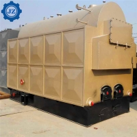 China 5 Ton 5000kg Sugarcane Bagasse Fired Steam Boiler Used In Surgar Factory wholesale