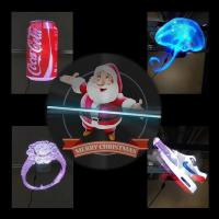China 1920x1080 Resolution 3D Holographic Display Hologram Fans With WIFI Bluetooth Function wholesale