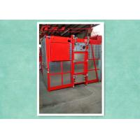 China High Efficiency Rack And Pinion Elevator Hoist With Anti-Fall Safety Device wholesale