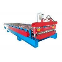 China PPGI Sheet With Ribs Metal Roof Making Machine Special For Custruction Company wholesale