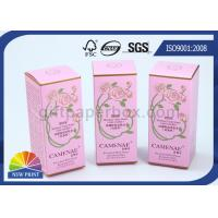 China Custom Printed Perfume Packaging Box , Recycled Paper Cosmetic Boxes Eco-friendly wholesale