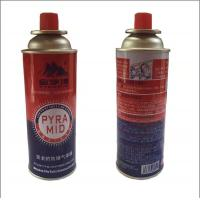 China Universal empty wholesale butane gas cartridge for portable camping stove normal wholesale