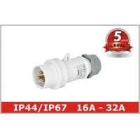 China Indoor 3 Pole Low Voltage Plugs And Sockets 40V 50V ,  IEC309 standard wholesale