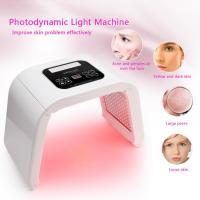 China 4 Color Anti Aging Light Pdt Photon Therapy LED Facial Machine Pigment Removal OEM / ODM wholesale
