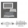 China Aluminum Metal Grille DG-BC wholesale