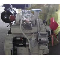 China White 4 Cylinder Diesel Engine 4 Stroke With Sea Water Pump / Heat Exchanger wholesale