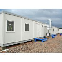 China Temporary Steel Storage Container Homes Environmental Friendly Optional Color on sale