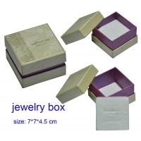 Buy cheap Paper Gift Jewellery Packaging Boxes from wholesalers